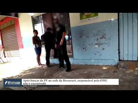 Após buscas da PF na sede da Ressoart, responsável pela ONG não é encontrado