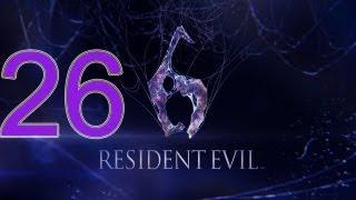 Прохождение Resident Evil 6 [Часть 26 Телохранители]