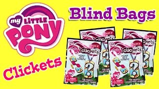 My Little Pony Clickets Blind Bags Slap Braclet Как