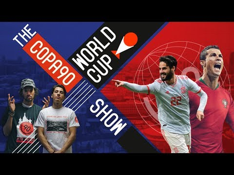 Can Spain Defeat Portugal Under New Coach Hierro ?  | COPA90 WORLD CUP SHOW