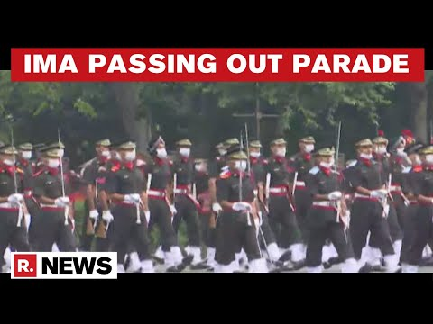 Indian Military Academy Holds Passing Out Parade For Cadets In Dehradun
