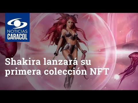 Shakira lanzará su primera colección NFT