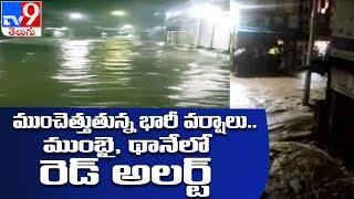 IMD issues red alert for Mumbai, Thane - TV9 - TV9