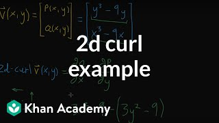 2d curl example