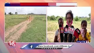 Police Arrests Dalit Farmers Protest against Land Grabbing   V6 News - V6NEWSTELUGU