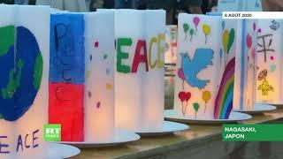 Japon : des centaines de personnes rendent hommage aux victimes du bombardement atomique de Nagasaki