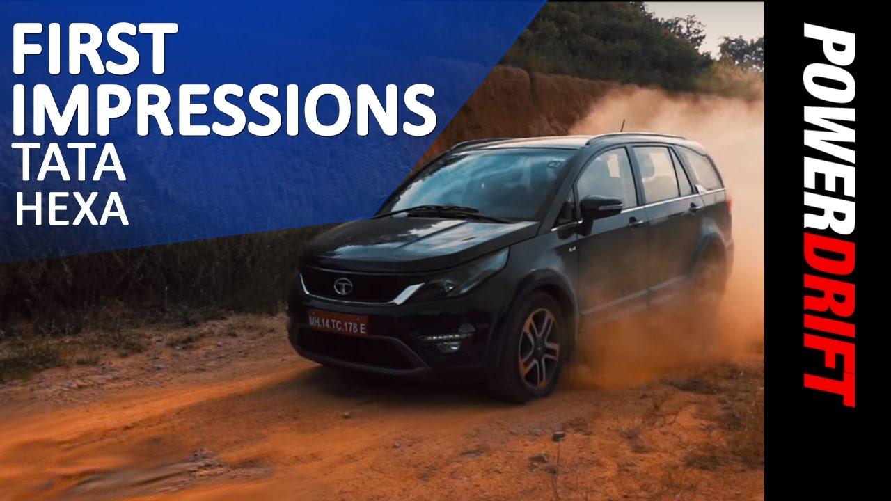 Tata Hexa : First Impressions : PowerDrift