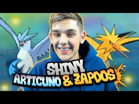 connectYoutube - EPIC LIVE SHINY ARTICUNO AND ZAPDOS UNDER 50 ENCOUNTERS! (Pokemon Ultra Sun & Moon Shiny Reaction)