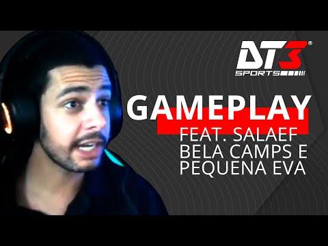 Primeira vez jogando CS! - Gameplay DT3 feat. Pequena Eva, BelaCamps e Salaef