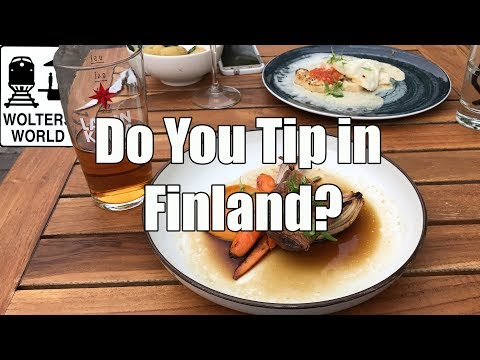 Visit Finland - Do You Tip in Finland?