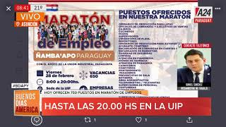 #BDAPy - Maratón de empleo en la UIP