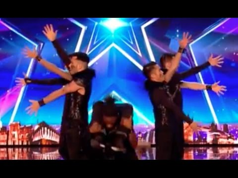 Mind Blowing Moves By ALLin Dance Crew | Audition 6 | Britain's Got Talent 2017