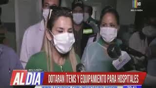 Entregaron hospitales para atención de COVID-19
