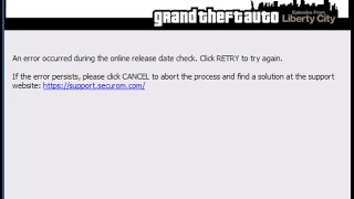 How to fix GTA IV Release Date Check Failed [Easy]