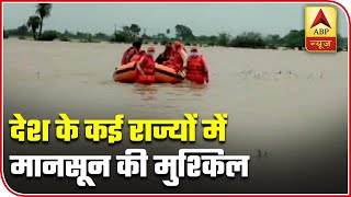 Rain torments different parts of country, landslides in Uttarakhand - ABPNEWSTV