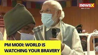 'World is watching your bravery' | Modi Message to Galwan Survivors | NewsX - NEWSXLIVE