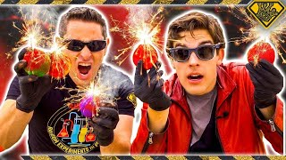 MARIO Fireballs, In Real Life (With MatPat)