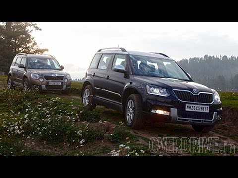 2014 Skoda Yeti 4x2 / 4x4 - First Drive Review (India)