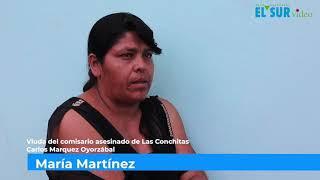 Exigen justicia y seguridad los familiares del comisario asesinado