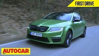 Skoda Octavia RS | First Drive | Autocar India