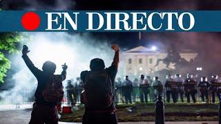 DIRECTO|  Washington se prepara para otra noche de disturbios tras la muerte de George Floyd