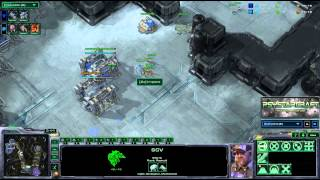 Starbow Invitational - Ryuong vs Impact - ZvT - Game 4