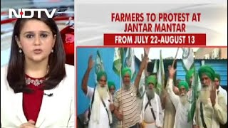 Farmers Protest: Farmers Set To Protest In Heart Of Delhi Today, Tight Security At Borders - NDTV