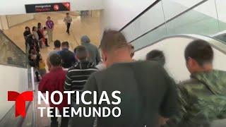Más de 100 inmigrantes mexicanos regresan a sus estados de origen   Noticias Telemundo