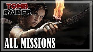 Tomb Raider - All missions | Full game walkthrough