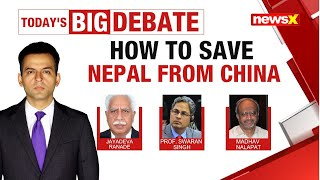 HOW TO SAVE NEPAL FROM CHINA |NewsX - NEWSXLIVE