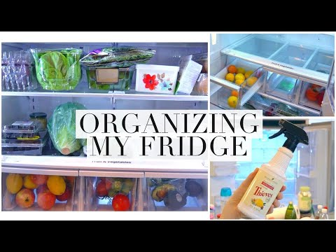 connectYoutube - My Refrigerator Cleaning & Organization Routine!