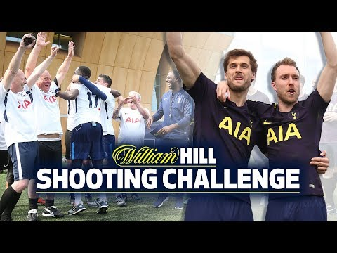 SHOOTING CHALLENGE | TEAM ERIKSEN & LLORENTE VS TEAM LAMELA & SISSOKO