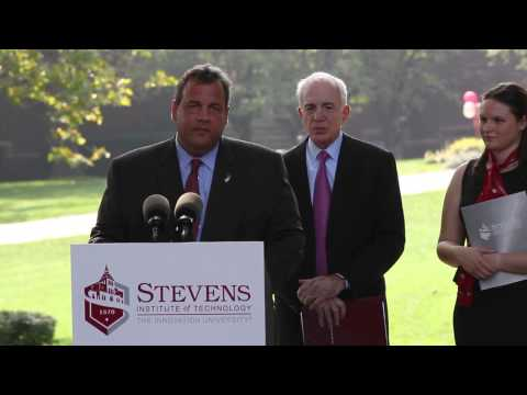 Stevens Institute of Technology: Governor Chris Christie Campus Visit Highlights