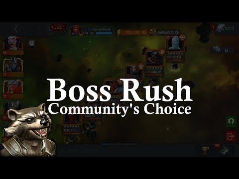 connectYoutube - Boss Rush: Community's Choice - FlareShield Rocket! | Marvel Contest of Champions