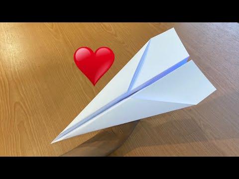 วิธีพับเครื่องบินกระดาษร่อนนาน