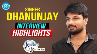 Singer Dhanunjay Exclusive Interview Highlights | Melodies and Memories | iDream Movies - IDREAMMOVIES