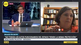 """Rosa María Palacios: """"No creo que Vizcarra quiera quedarse en el poder, no tiene proyecto político"""""""