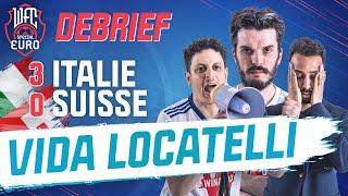 ???? [LIVE] Debrief Italie - Suisse (3-0) : Locatelli voit double / Turquie - Galles (Euro)