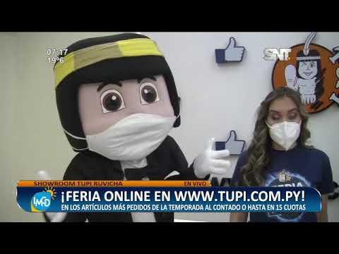 ¡Aprovechá la feria online en www.tupi.com.py!