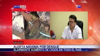 Alerta por dengue: Alarmante aumento de casos en todo el país
