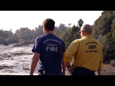 connectYoutube - Rob Lowe Visits Devastation in Montecito – Extended Version