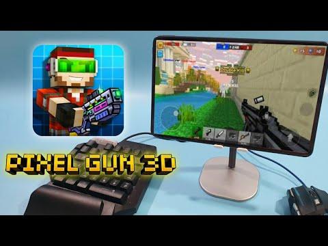 สอนเล่นเกม-Pixel-Gun-3D-บนมือถ