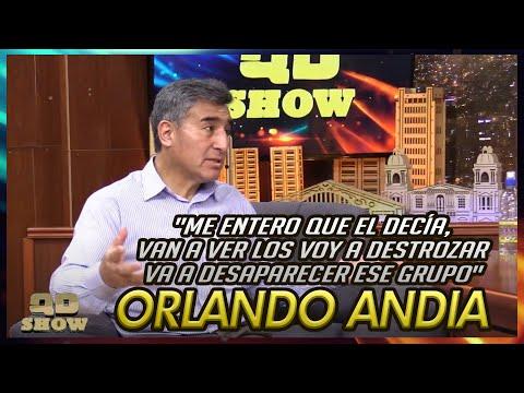 Orlando Andia - Me entero que el decía, van a ver los voy a destrozar va a desaparecer ese grupo