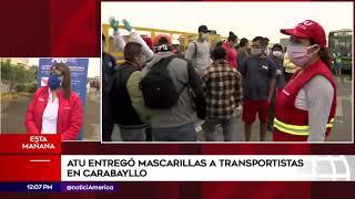 Edición Mediodía: 100% del transporte público volverá a salir de manera ordenada