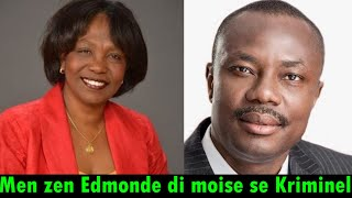 Edmonde Supplice Beauzile fe vakam sou Moise Jean Charles. li di ansyen senate a Kriminel.