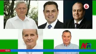5 precandidatos del PLN se enfrentan cara a cara en primer debate en televisón nacional
