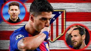 OFICIAL: Luis Suárez al Atlético de Madrid ???? La prensa mundial habla de el Bombazo