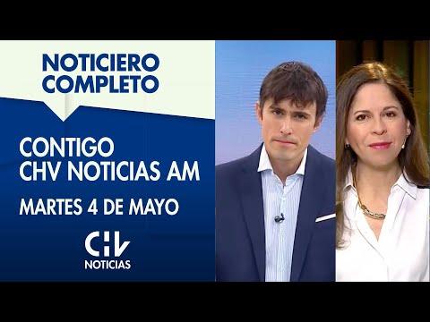 Contigo CHV Noticias AM | Martes 4 de mayo de 2021