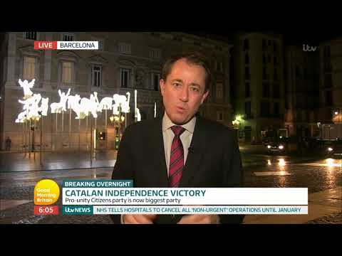 connectYoutube - Catalan Independence Victory | Good Morning Britain