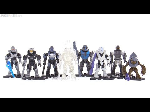 connectYoutube - Mega Construx Halo Stormbound series figures reviewed